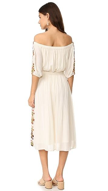 TULAROSA Marty Midi Dress