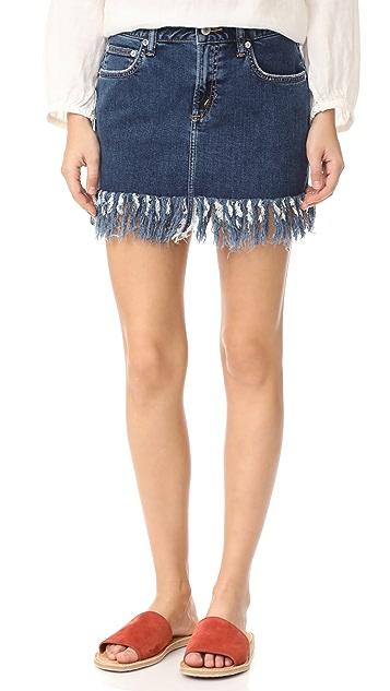 TULAROSA Aubrey 5 Pocket Miniskirt