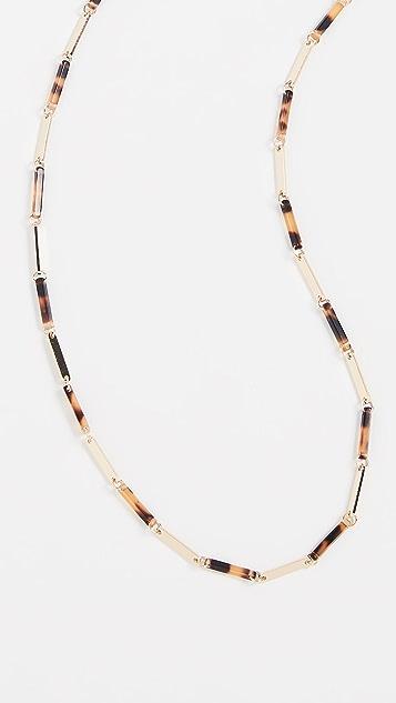 Tuleste Dresin & Metal Bar Eyewear Chain