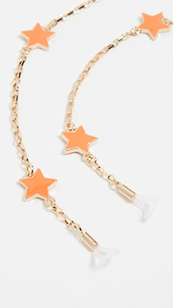 Tuleste Delicate Star Eyewear Chain