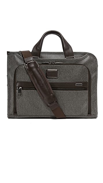 Tumi Alpha 2 Business Slim Deluxe Briefcase