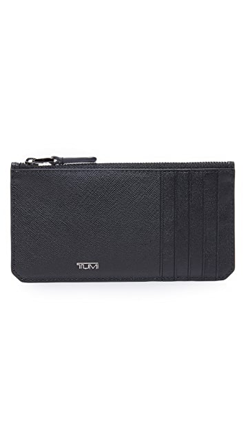 Tumi Mason Long Zip Card Case
