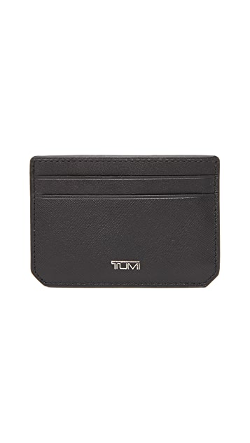 Tumi Mason Money Clip Card Case