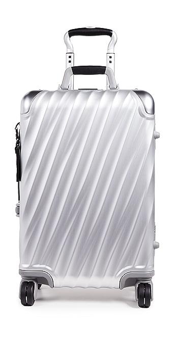 Tumi 19 Degree Aluminum International Carry On Suitcase - Silver