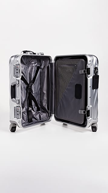TUMI 19 Degree Aluminum Continental Carry On Suitcase