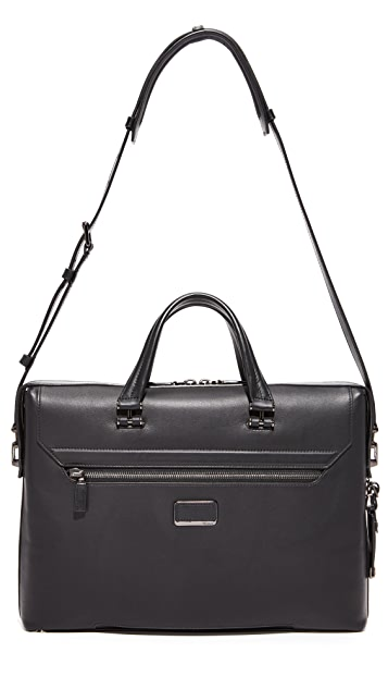 Tumi Ashton Leather Gates Slim Briefcase