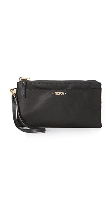 Tumi Double Zip Wallet