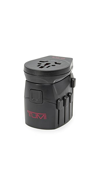 Tumi Electric Grounded Travel Adapter