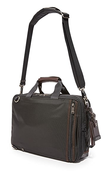 Tumi Alpha Bravo Mayport Three Way Briefcase