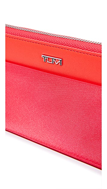 Tumi Zip Around Continental Wallet