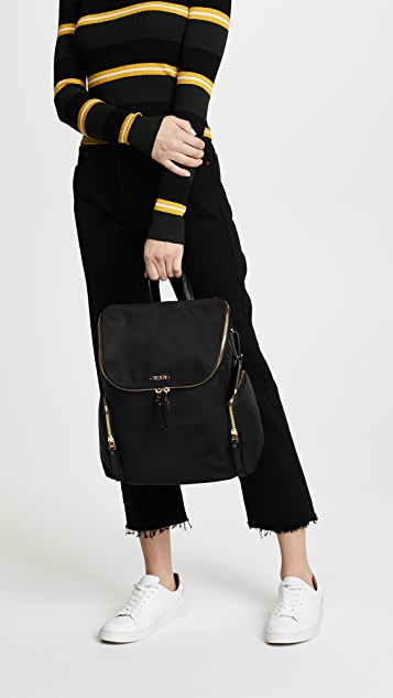 Tumi Lexa Zip Flap Backpack
