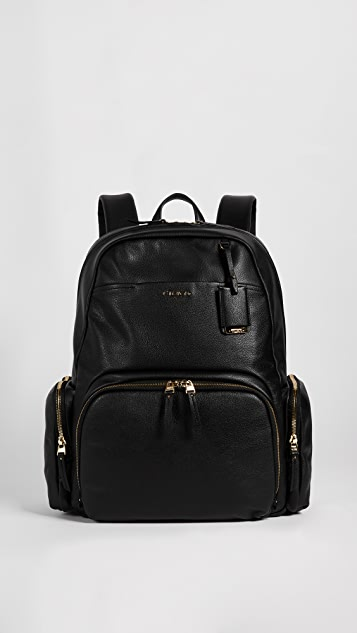 Tumi Calais Leather Backpack