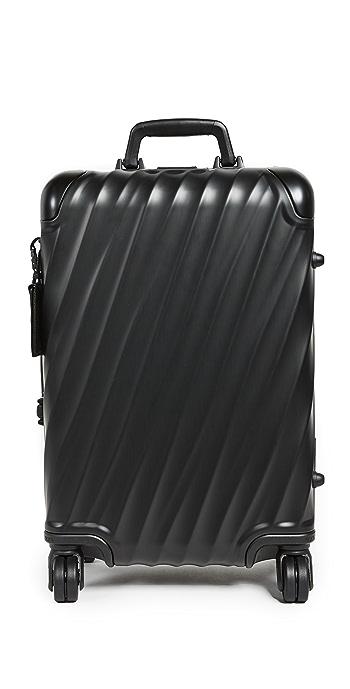 Tumi International Carry On Suitcase - Matte Black