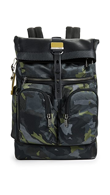 Tumi Alpha London Roll Top Backpack