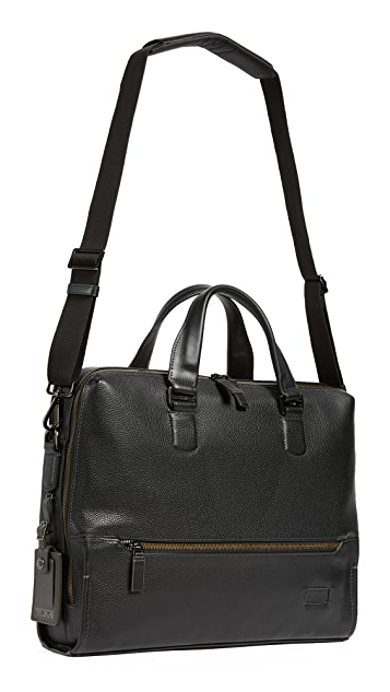 Tumi Harrison Horton Double Zip Briefcase