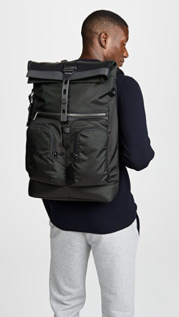 Tumi Alpha Bravo London Rolltop Backpack
