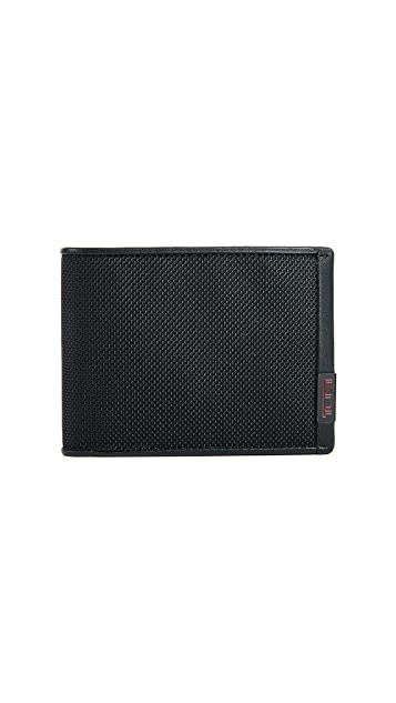 Tumi Alpha Double Billfold Wallet