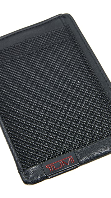 Tumi Alpha Money Clip Card Case