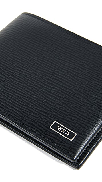 Tumi Monaco Double Billfold Wallet