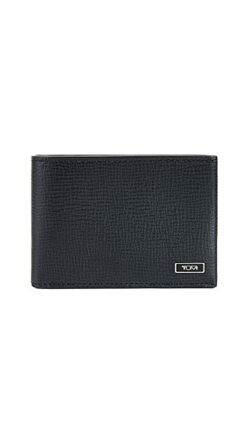 Tumi Monaco Slim Double Billfold