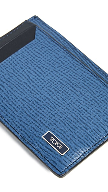Tumi Monaco Money Clip Card Case