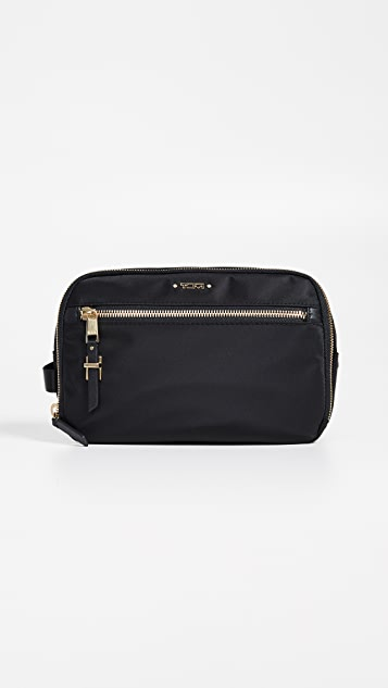 Tumi Erie Double Zip Cosmetic Case