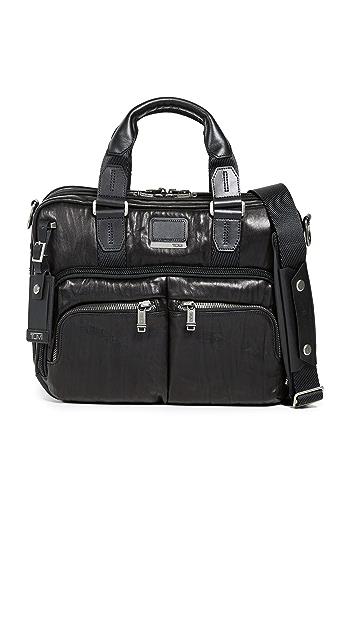 Tumi Alpha Bravo Albany Slim Commuter Briefcase - Black