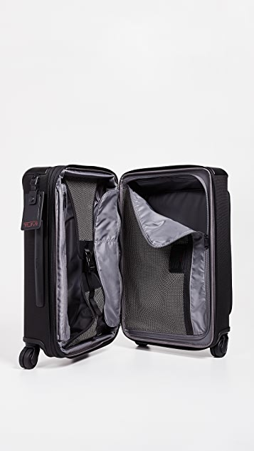 Tumi Alpha International Front Lid Carry On Suitcase