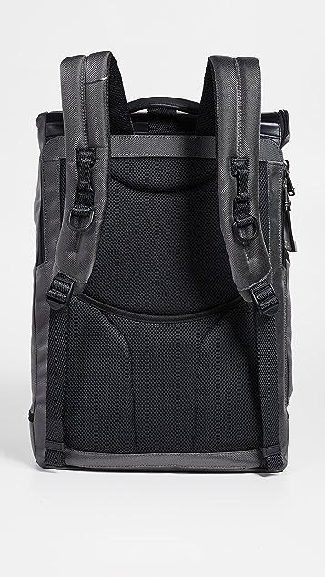Tumi Alpha Bravo London Roll Top Backpack