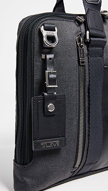Tumi Alpha Bravo Aviano Slim Briefcase