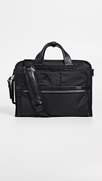 Tumi Alpha Slim Three Way Briefcase