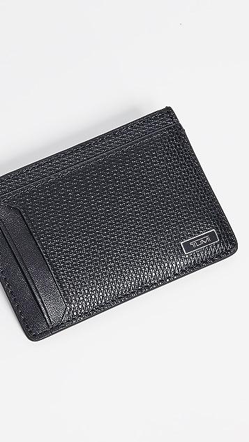 Tumi Monaco Money Clip Card Case