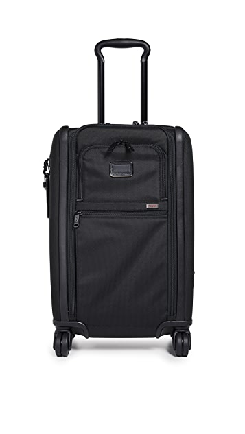 TUMI Alpha International Dual Access 4 Wheel Carry On Suitcase