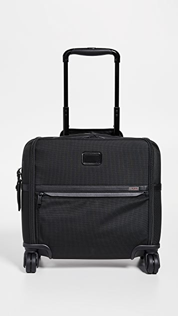 Tumi Alpha Compact 4 Wheel Briefcase