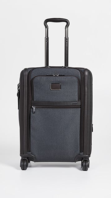 Tumi Alpha Continental Dual Access 4 Wheel Carry On Suitcase