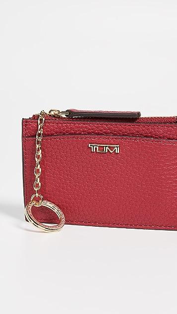 Tumi Belden SLG Zip Card Case