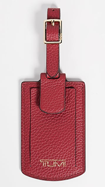 Tumi Belden Luggage Tag - Orchid