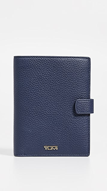 Tumi Belden Passport Case - Ultramarine