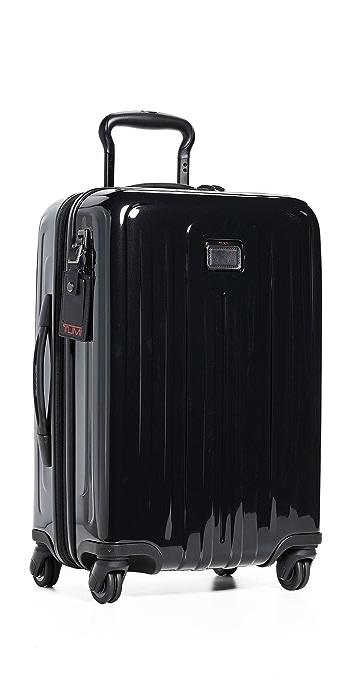 Tumi V4 International Expandable Carry On Suitcase - Black