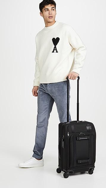 Tumi Merge International Front Lid 4 Wheeled Carry On Suitcase