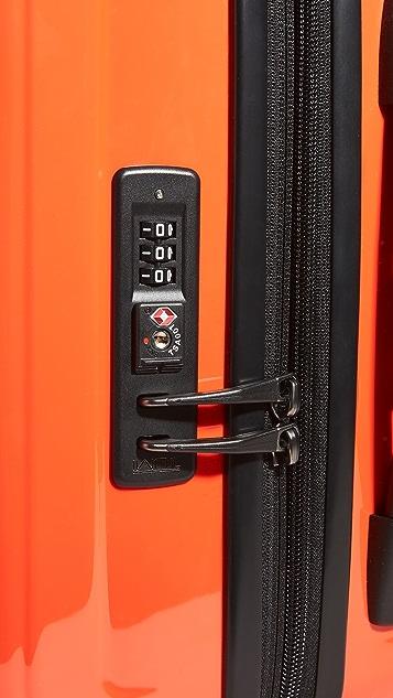 Tumi V4 International Expandable 4 Wheel Carry On Suitcase