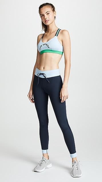 The Upside Colorblock Midi Pants