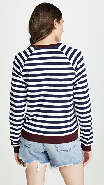The Upside Goldie Striped Top