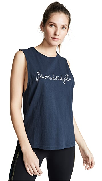 The Upside Feminist Muscle Tank