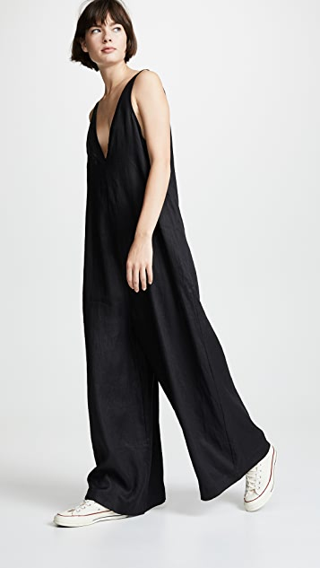 The Upside Zen Linen Jumpsuit