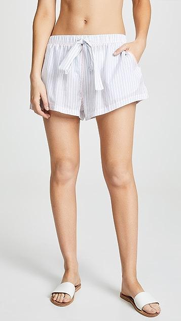 The Upside Pinstripe Shorts