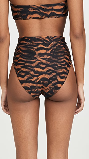 The Upside Tiger Bikini Bottoms