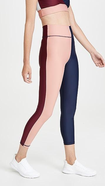 The Upside Harlequin Dance Midi Leggings
