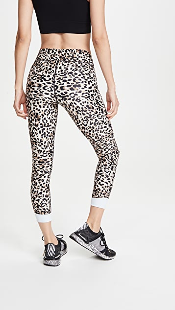 The Upside Water Leopard Midi Pants