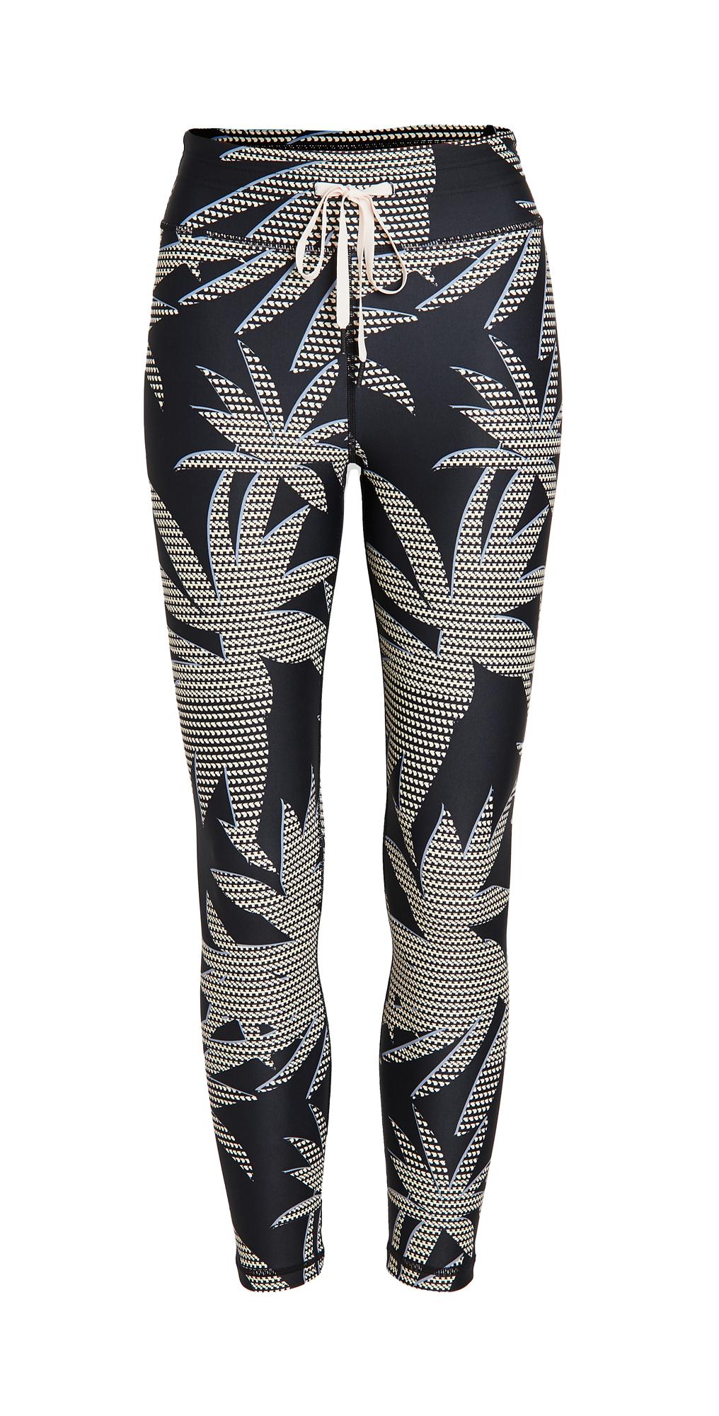 The Upside Palm Midi Pants